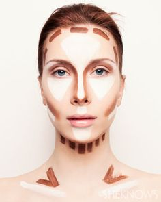 how to highlight and contour