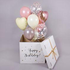 Diy Birthday, Birthday Wishes, Birthday Gifts, Birthday Parties, Birthday Balloon Decorations, Birthday Balloons, Gift Wraping, Balloon Arrangements, Happy Birthday Pictures