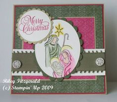 Another Christmas in July Card! by dancerriley - Cards and Paper Crafts at Splitcoaststampers
