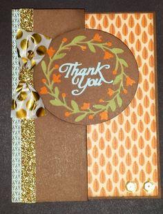 Swing card using artfully sent cricut cartridge, #ctmh pathfinding paper