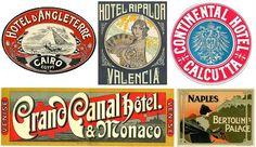 Nostalgic Americana Labels Tropical, Beach, Surf and Mermaid Labels Vintage Circus Images Adoring Sentiments Images Antique Dog &. Luggage Stickers, Luggage Labels, Art Nouveau, Art Deco, Flea Market Style, Dog Illustration, Scottie Dog, Vintage Travel Posters, Ephemera