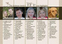 Best christmas newsletter ideas images christmas