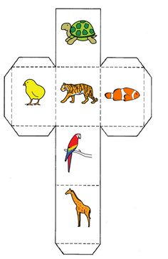 Recursos para Docentes: Story cubes y formación de frases Library Activities, Preschool Learning Activities, Animal Activities, Toddler Activities, Story Cubes, Kids English, English Lessons, Nursery Rhymes Lyrics, Birthday Bulletin