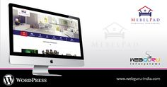 Mebelpad is a #website from where people can rent high quality #furniture and #appliances for their homes. It offers a wide range of affordable products and packages to choose from. Instead of paying a large amount of money altogether, you can pay as per your requirement with flexible tenure options.   WebGuru is happy to be associated with Mebelpad in ⚒ building a robust #WordPress website for them.