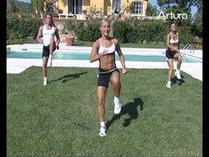 Fitness lezioni di aerobica - YouTube