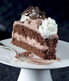 Dort Harlekýn recept příprava - ApetitOnline.cz Czech Desserts, Sweet Desserts, Easy Desserts, Sweet Recipes, Delicious Desserts, Baking Recipes, Cake Recipes, Cake Decorating For Beginners, Sweet Cooking