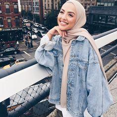 Ideas fashion hijab summer outfit ideas for 2019 41 Modest Fashion Hijab, Modern Hijab Fashion, Casual Hijab Outfit, Hijab Chic, Muslim Fashion, Fashion Outfits, Fashion Ideas, Hijab Mode Inspiration, Modele Hijab