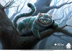 Concept Artist and Illustrator Michael Kutsche has released some new concept art for Tim Burton's Alice in Wonderland. Michael's work for the film include character designs for the Red Queen, Knave of Hearts, The Chesire Cat and many more. Cheshire Cat Alice In Wonderland, Alice In Wonderland Characters, Cheshire Cat Tim Burton, Cheshire Cat Art, Costume Chat, Cat Costumes, Costume Ideas, Cheshire Cat Costume, Chesire Cat