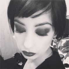 This makeup and styling was inspired by the 192's flapper era.