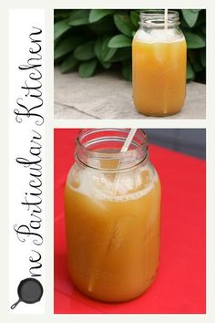 This is another one of those scribbled-on-a-piece-of-paper recipes. With a predicted high in Nashville of 96 degrees on Sunday, you're gonna want to scribble it down as well -- trust me. Fruit Tea ...