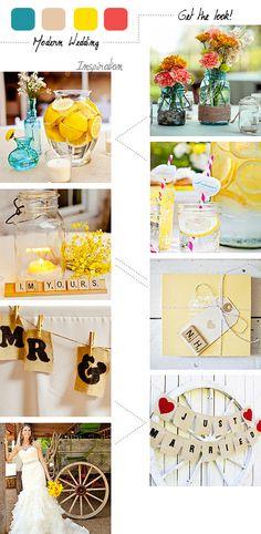 #yellow themed #reception