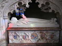 Catherine Parr's tomb (reinterred), last wife of Henry VIII |
