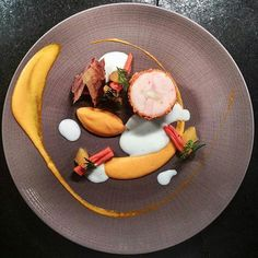 Chicken ballotine, rehydrated carrots with orange and buttermilk by @thomekas #GourmetArtistry