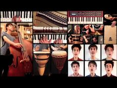 """Amazing rendition of Stevie's """"Don't You Worry 'Bout A Thing"""" Worth a look and a listen! Jacob Collier's arrangement of an all-time Stevie Wonder favorite; recorded, produced and performed by a whole team of Jacob Colliers; recorded entirely with one SM58 microphone."""