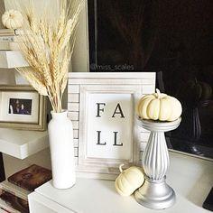 Fall Decor - Apartment Decor - Living