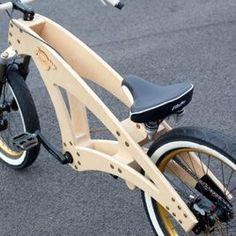 Bike for kids Wooden Bicycle, Wood Bike, Velo Design, Bicycle Design, Kids Cycle, Electric Bike Kits, Push Bikes, Chopper Bike, Cargo Bike