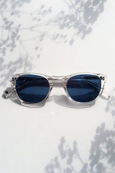Topper Sunglasses in River Stone Blue Fade for Women