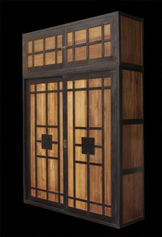 contemporary-wooden-wardrobes-sliding-doors-custom-made- Very Japanese looking. Reminds me of the light shining through the rice page on screens.