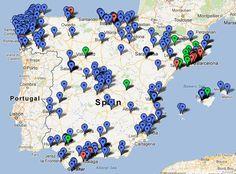 Nuevo mapa de los Bancos de Tiempo en España - Buscar con Google