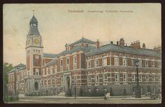 Germany Postcard~Darmstadt Tech School~1907