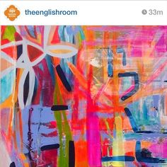 """""""Check out @theenglishroom. Holly is an uber talented Interior Designer from North Carolina who happens to be a huge lover of Australian Art and all things…"""""""