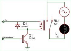 build a relay toggle switch wiring and schematic electro servo control circuit diagram in this arduino relay control tutorial we will simply learn how to interface a relay with arduino here we are not using any relay driver ic like and will