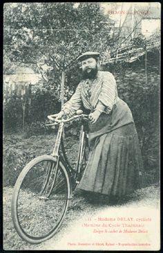 Donne barbute: Madame Delait