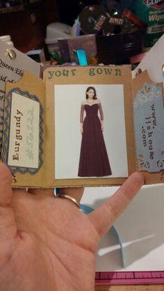 Bridesmaid book page 4