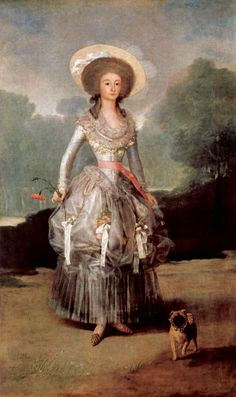 The Marchioness of Pontejos, portrait by Goya