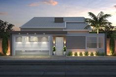 Pergola For Car Parking Minimalist House Design, Minimalist Home, Modern House Design, Front Wall Design, Mid-century Modern, Black Outdoor Wall Lights, Pergola Plans, Pergola Ideas, Exterior Design