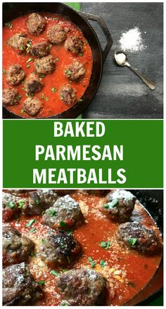 A classic meatball recipe gets a flavor-punch with extra Parmesan cheese in these easy baked Parmesan meatballs via Mom to Mom Nutrition Healthy Beef Recipes, Baby Food Recipes, Meat Recipes, Cooking Recipes, Toddler Recipes, Freezer Cooking, Family Recipes, Classic Meatball Recipe, Meatball Recipes