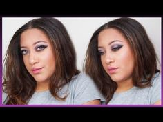 Purple Smokey Eyes| Party Look (Night Time) | LisaAngela1 - YouTube