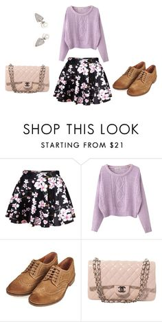 """""""114"""" by darkgaia ❤ liked on Polyvore featuring Chicnova Fashion, Barbour and Chanel"""