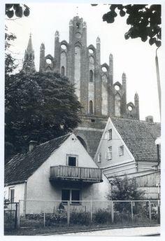 Allenstein - Olsztyn, Jakobikirche, Nordgiebel