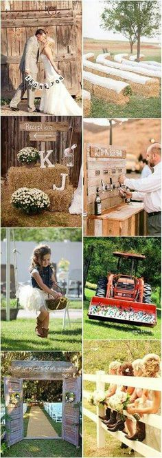 Rustic chic weddings for a incredibly romantic wedding day, tip and help reference 6498423342 - Gorgeous yet chic tips. rustic chic wedding ideas receptions advice posted on moment 20190320 Farm Wedding, Chic Wedding, Trendy Wedding, Dream Wedding, Wedding Day, Wedding Rustic, Wedding Ceremony, Wedding Backyard, Wedding Disney