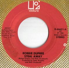 Robbie Dupree Steal Away / I'm No Stranger by Acvintagevinyl