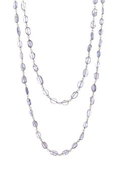 Savvy Cie Lolite Beaded Wrap Necklace by Savvy Cie on @HauteLook