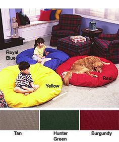 @Overstock - Rest and relax with the fun Round About lounge cushion. Cushion features an ample diameter for an ideal place to read, watch TV or lounge. Bedding has a pillow-like texture that's pliable enough to fold up and store away in a closet.http://www.overstock.com/Home-Garden/Round-About-Lounge-Cushion/61816/product.html?CID=214117 $40.99