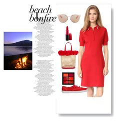 """""""Red things"""" by fernandaalmeida-1 ❤ liked on Polyvore featuring Grey by Jason Wu, Keds, Nannacay, Christian Dior, MAC Cosmetics and NYX"""