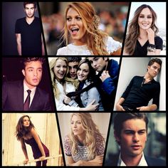 Gossip girl  njbc~the non judging breakfast club Serena Van Der Woodsen Blake Lively Nate Archibald  Chace Crawford Chuck Bass Ed westwick Blair Waldorf Leighton Meester  Smile Happiness