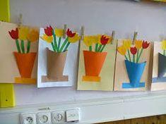 Výsledek obrázku pro jaro ve výtvarné výchově
