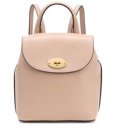 Mini Bayswater Leather Backpack | Mulberry - mytheresa.com