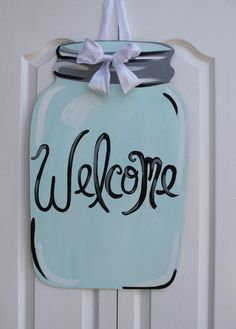 Southern+Jar+Wooden+Door+Hanger+Art+by+PatrioticPeacockShop,+$50.00