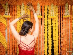 Offbeat Mehendi Outfits Spotted On Real Brides Mehndi Outfit, Cape Dress, Peplum Blouse, Mehendi, Image Photography, Looking Gorgeous, Vibrant Colors, Brides, Outfits