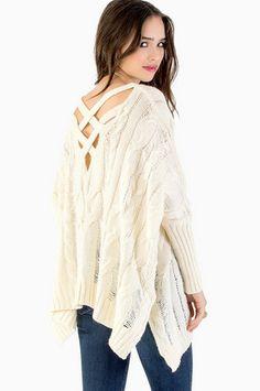 Triana Knit Sweater $44 at www.tobi.com