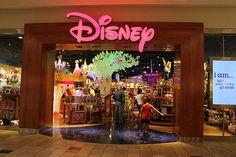 the Disney store!