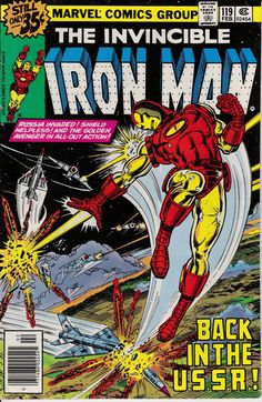 Iron Man 1968 1st Series 119 February 1979 Issue  by ViewObscura, $4.00