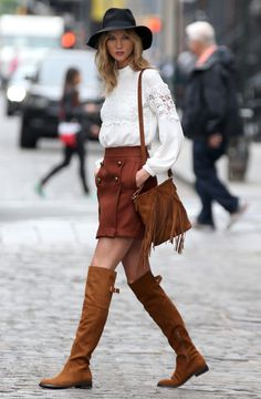 Just Karlie Kloss in NYC - photo shoot 2015