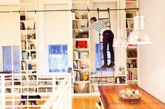 I want pretty bookshelves and a kindle...I wonder which desire will win