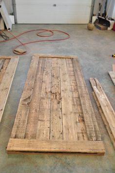 For My New Office I Will Make Barn Doors For The Exam Lanes.